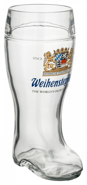 Weihenstephan Glass Boot-Style 1,0l