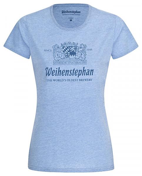 Weihenstephan T-Shirt Rundhals-Ausschnitt Damen
