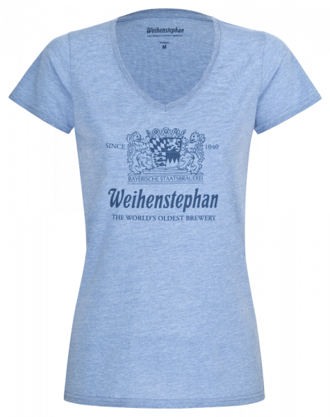 Weihenstephan T-Shirt V-Neck Ladies