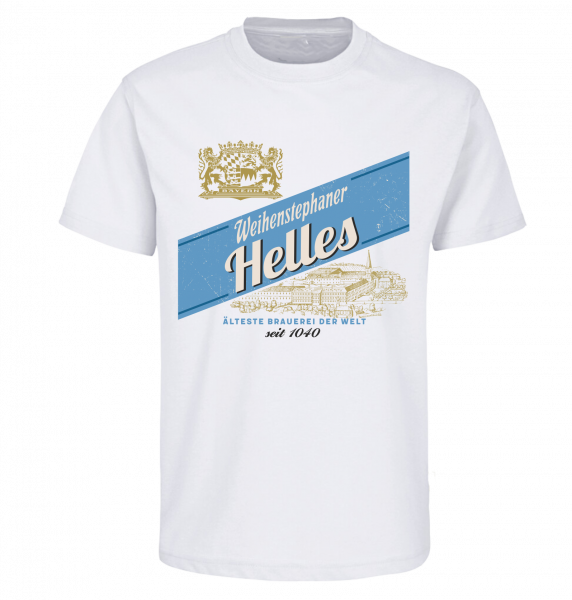 Weihenstephan Shirt Helles Unisex