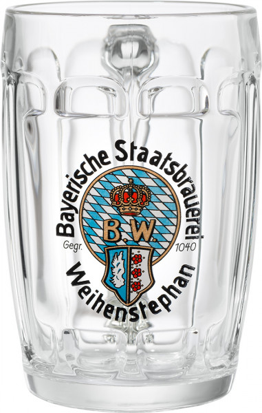 "Weihenstephan ""Keller beer"" Glass 0,5 l"