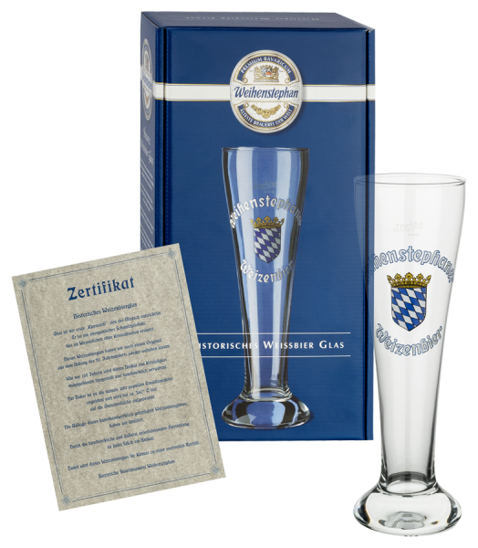 Weihenstephan Historical Wheat Beer Glass 0,5 l