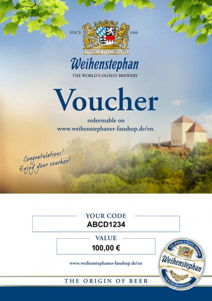 Voucher 100 Euro