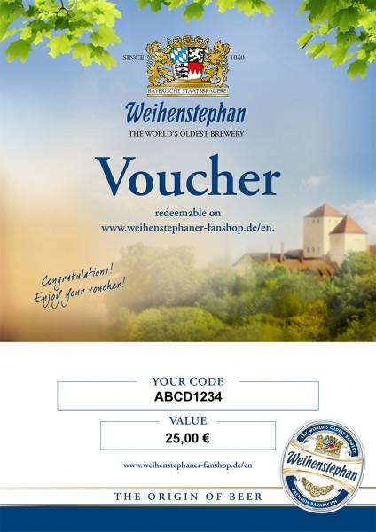 Voucher 25 Euro