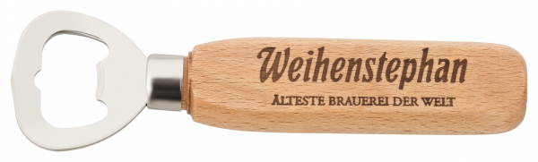 Weihenstephan Bottle Opener Wood